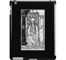 The High Priestess Tarot Card - Major Arcana - fortune telling - occult iPad Case/Skin