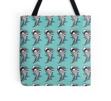 Sharks in Tornadoes Tote Bag