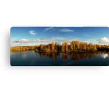 Autumn in Oulu Canvas Print