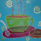 Coffee Cup by Beth Eadicicco