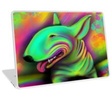 English Bull Terrier Colour Splash  Laptop Skin