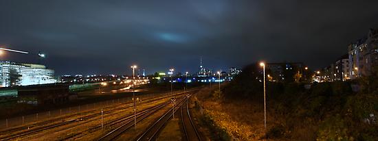 Berlin at night by grayscaleberlin