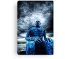 Monday Morning Blues Canvas Print