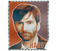 HARDY - Miller Orange (Broadchurch) Poster