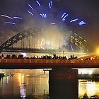 Tall Ships 2005 - Fireworks over the Tyne by Paul Clayton