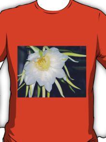 Red Dragon-Fruit Flower Bloom T-Shirt