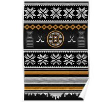 Ugly Boston Sweater Poster