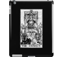 The Chariot Tarot Card - Major Arcana - fortune telling - occult iPad Case/Skin