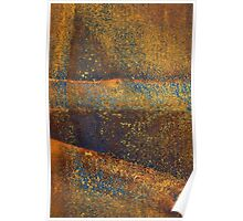 Rusted Landscape Poster