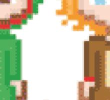 Pixel Amazingphil and Danisnotonfire Sticker