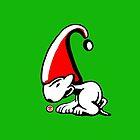 English Bull Terrier Gnome by Sookiesooker