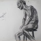 male figure study by more  ed