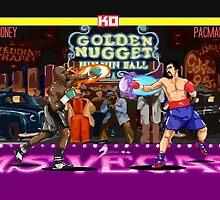 Boxing Legends: Money vs Pacman by akyanyme1