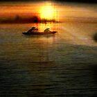 Mekong Sunset by Boadicea