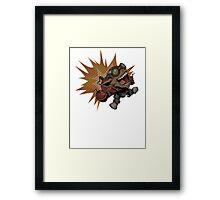 Ziggs Framed Print