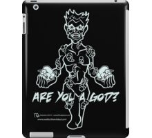 Are you a God? Ghost Green iPad Case/Skin