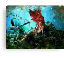 Deep Allure Canvas Print