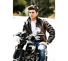 Zac Efron Photographic Print