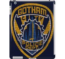Gotham City PD T-shirt iPad Case/Skin