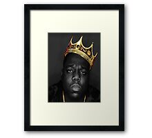 Biggie Smalls  Framed Print
