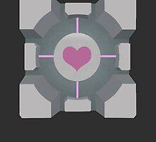 Portal | Companion cube by SrGio