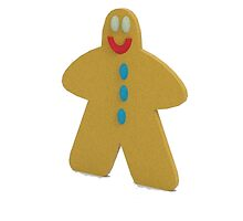 ginger bread man by LokiLaufeysen
