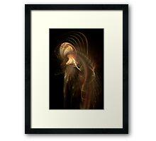 Fractal Octopus Framed Print