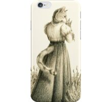 Victorian Cat Series 04 iPhone Case/Skin