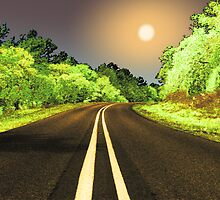 What I remember about the road that night... by Wendy J. St. Christopher