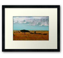 Wonder of the Mara Framed Print