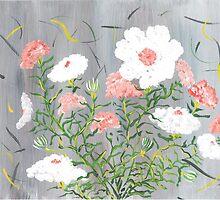 Cotton Flowers by Ginger Lovellette