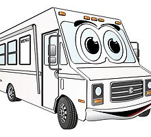 Food Truck Cartoon by Graphxpro