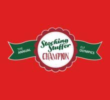 Stocking Stuffer Champion! by Tee Brain Creative