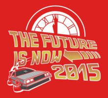 The Future is Now (Back to the Future) Kids Clothes