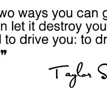 Taylor Swift Quote by lalsim