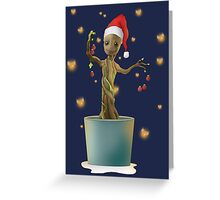 Groot Christmas Greeting Card