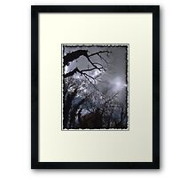 Something Dark and Dreary Framed Print