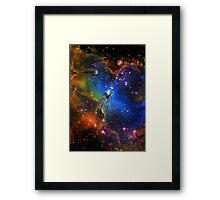 Galaxy Eagle Framed Print