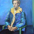 The  $2 Blue Coat, Portrait of Eric  by Virginia McGowan