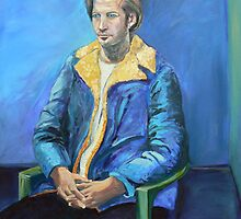 The  $2 Blue Coat, Portrait of Eric  by Virginia McGowan