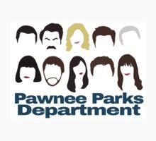 Pawnee Parks and Rec Crew by MulberryMuskox
