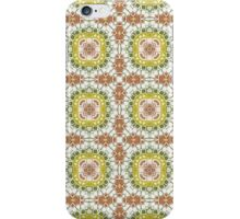 Brown, Green and Gold Abstract Design Pattern iPhone Case/Skin