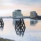 Cardiff Bay 'Spring Morning' by Nathan Howell