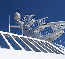 Radar Tower on Cruise Ship by glennmp