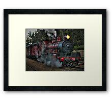 Engine No. 934, Zig Zag Railway Framed Print
