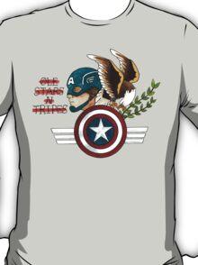 Captain America Tattoo Flash T-Shirt