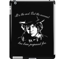 It's The End - 4th Doctor Regeneration Tee iPad Case/Skin