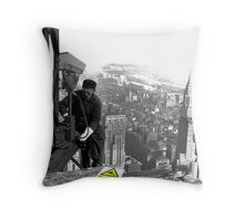 CCTV in Operation Throw Pillow