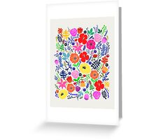 Secret Flower Garden Greeting Card