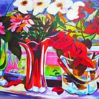 Window Still Life 2 by marlene veronique holdsworth